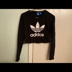 Adidas Long Sleeve Crop Top